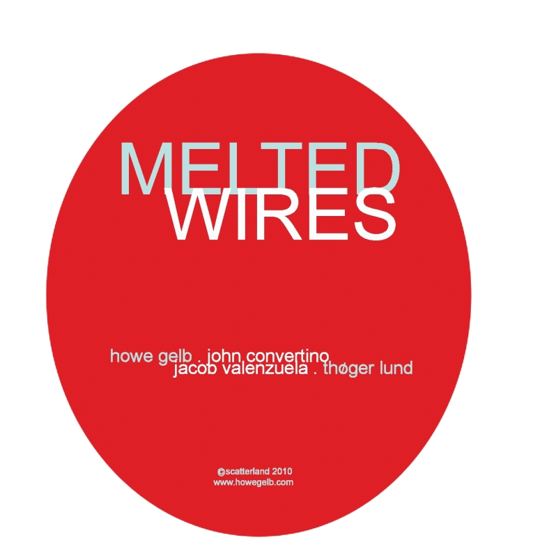 disc art melted wires-1
